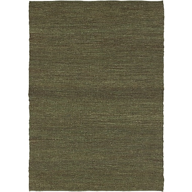 Chandra Pricol Green Area Rug; 7' x 10'