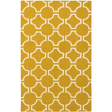 ECARPETGALLERY Kasbah Casual Hand Tufted Cream Area Rug