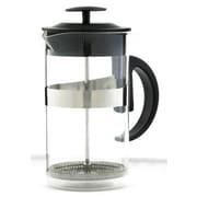 Grosche Caf  Au Lait 33.81 Oz. French Press & Milk Frother Coffee Set; Black