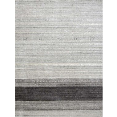 AMER Rugs Blend Light Gray Area Rug; 8' x 10'