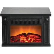 Warm House Zurich 1,000 Watt Portable Electric Compact Heater; Black
