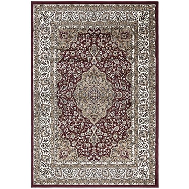Ottomanson Regal Traditional Medallion Red Area Rug; 7'10'' x 10'6''