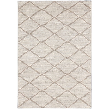 ECARPETGALLERY Noto Transitional Beige Area Rug; Rectangle 3'10'' x 5'7''