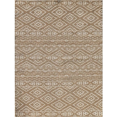 AMER Rugs Feza Hand-Knotted Camel Area Rug; 4' x 6'