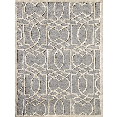 AMER Rugs Glow Platinum Area Rug; 5' x 8'