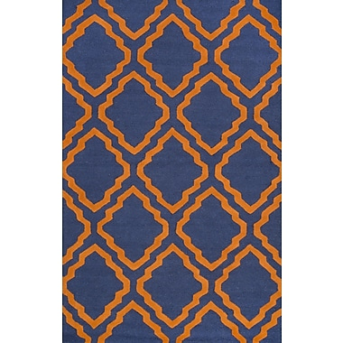 nuLOOM Gaillard Orange Area Rug; 5' x 8'