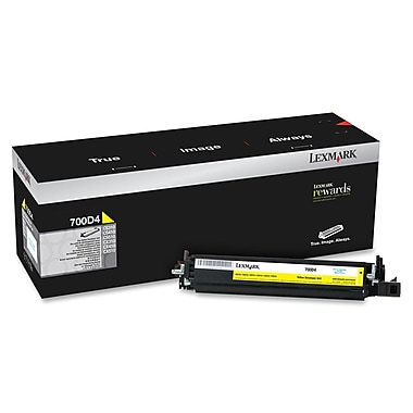 Lexmark 700D4 Yellow Developer Unit (70C0D40)