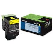 Lexmark 801XY Yellow Extra High Yield Return Program Toner Cartridge (80C1XY0.CA)