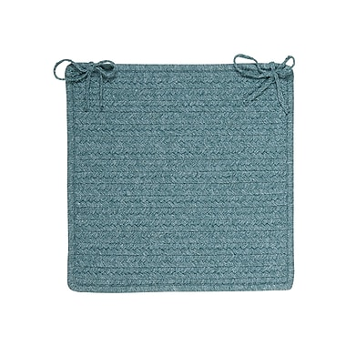 Colonial Mills Westminster Chair Pad; Teal