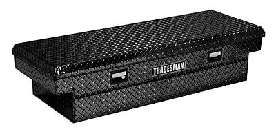 Lund Inc. Full Lid Cross Bed Truck Tool Box; Black