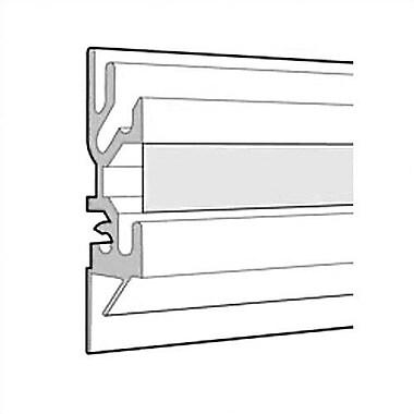 Peter Pepper Tactics Plus Aluminum Wall Track w/ Display Rail