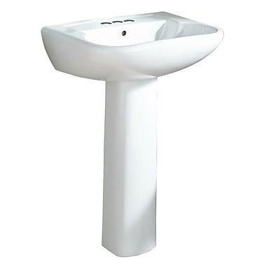 Sterling by Kohler Southhampton Single Hole 23.4'' Pedestal Sink; White