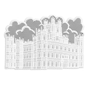Heritage Lace Downton Abbey Placemat (Set of 4); White