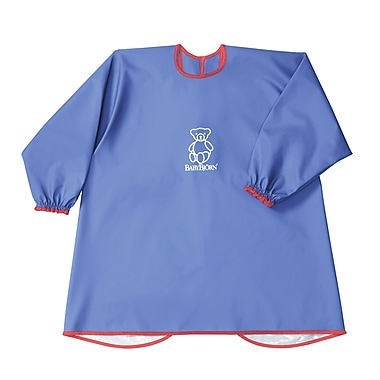 BabyBjorn Eat and Play Smock; Blue