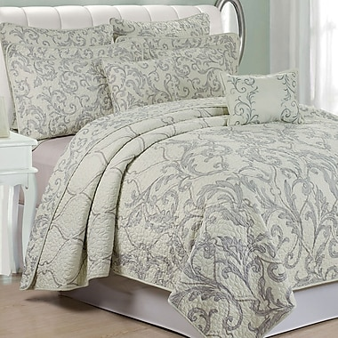 Serenta Marisol 7 Piece Quilted Coverlet Set; King