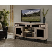 Turnkey LLC Soho 66'' Deluxe TV Stand w/ Built-In Surround Sound; Natural