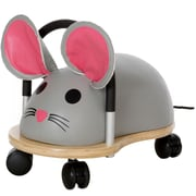 Prince Lionheart Wheely Bug Mouse Push/Scoot Ride-On; 10.5'' H x 11'' H x 18.5'' D