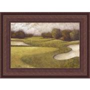 HadleyHouseCo Sand Trap II Framed Painting Print