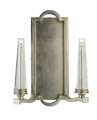 Artcraft Lighting Perceptions 2-Light Candle Wall Sconce; Oil Rubbed Bronze