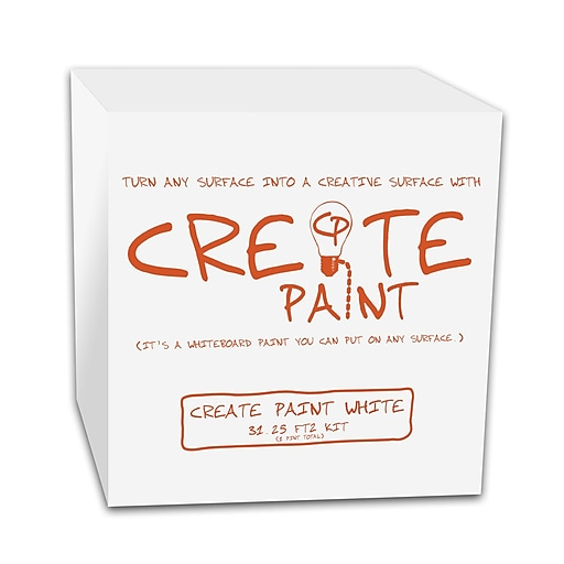 Create Paint 1pt White Dry Erase Paint (CPW-1P)