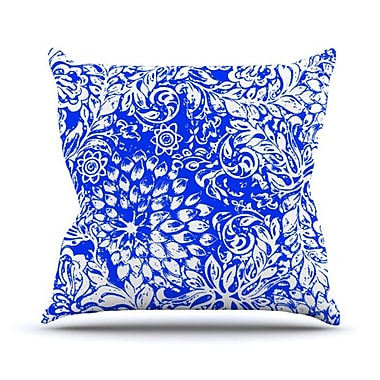 KESS InHouse Bloom for You Throw Pillow; 16'' H x 16'' W