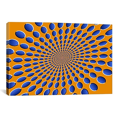 iCanvas 'Optical Illusions' by Michael Tompsett Graphic Art on Canvas; 18'' H x 26'' W x 0.75'' D