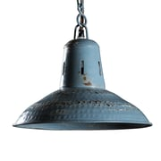 Wildon Home   Carlton Pendant Light; Vintage Blue
