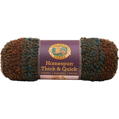 Homespun Thick & Quick Yarn, Woodland Stripes