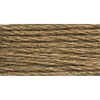 DMC Six Strand Embroidery Cotton, Medium Beige Brown