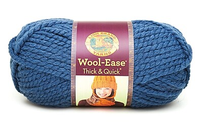 Wool-Ease Thick & Quick Yarn, Denim