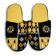 NHL Boston Bruins Men's Ugly Slippers, X Large