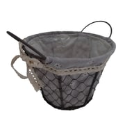 Cheungs Round Lined Wire Basket; Medium