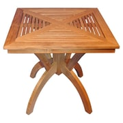 Regal Teak Pedestal Dining Table