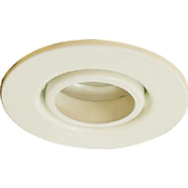 Volume Lighting Gimbal Ring 4'' Recessed Trim; White