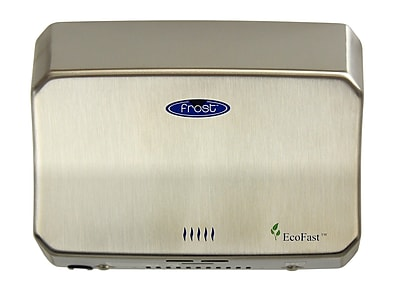 Frost Automatic High Speed Hand Dryer in Stainless Steel