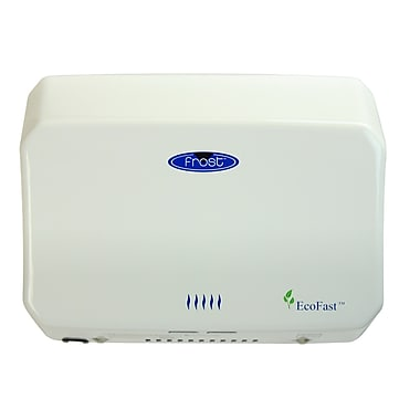 Frost Automatic High Speed Hand Dryer in White
