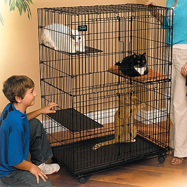 Midwest Homes For Pets Cat Cage & Playpen