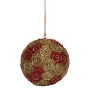Dekorasyon Holiday Cartwheel Ball Ornament (Set of 2)