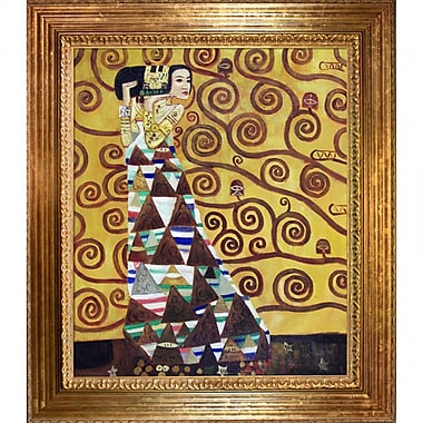 Wildon Home Expectation by Gustav Klimt Framed Painting