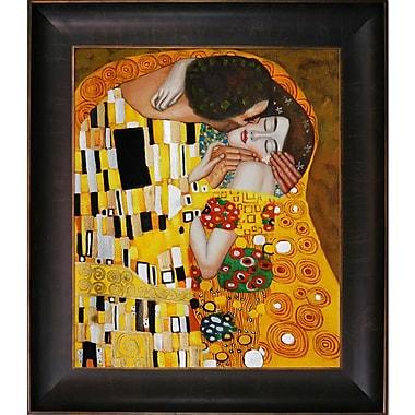 Wildon Home The Kiss by Gustav Klimt Framed Painting