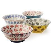 Signature Housewares 4 Piece Salad Bowl Set