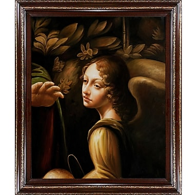 Wildon Home The Virgin of The Rocks by Leonardo Da Vinci Framed Painting