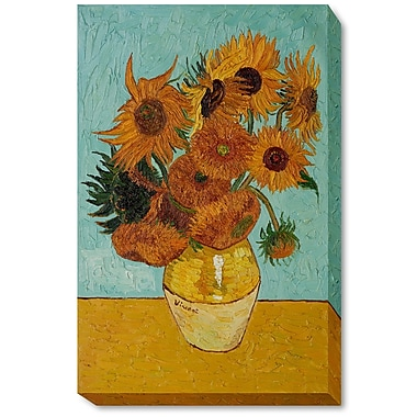 Wildon Home Sunflowers by Vincent Van Gogh Painting