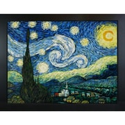Wildon Home   Starry Night by Vincent Van Gogh Framed Painting