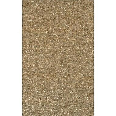 Chandra Art Brown/Tan Area Rug; 2' x 3'