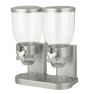 Zevro The Original Indispensable® Double Dispenser, White