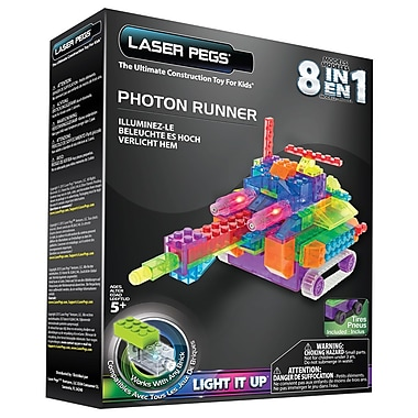 Laser Pegs 8 in 1 Photon Runner