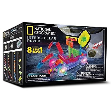 Laser Pegs 8 in 1 National Geographic Interstellar Rover