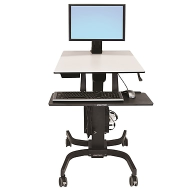 Ergotron® 24-215-085 WorkFit-C, Single LD Sit-Stand Workstation
