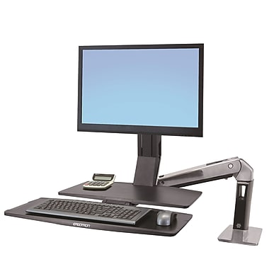 Ergotron® 24-314-026 WorkFit-A II, HD, Single, 5